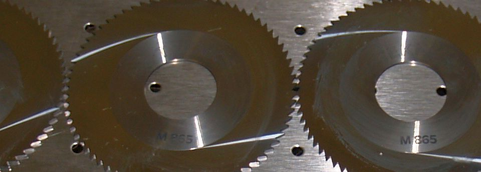 Laser Engraved Mini-Circular Saw Blades